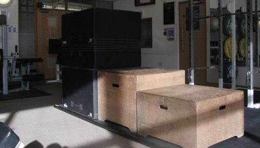 plyometric boxes